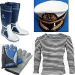 Яхтенная одежда, обувь, перчатки