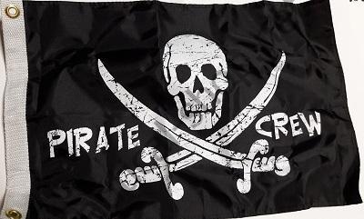 """Флаг """"Пиратская команда"""" 30х45 см, 1799"""
