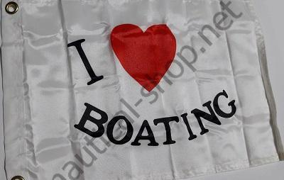 "Флаг ""I LOVE BOATING"" 30х45 см, Taylor Made, 2218"
