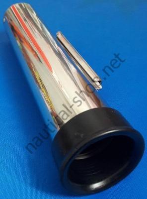 Настенный держатель удилища из нержавеющей стали, съемный, 41.212.12