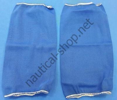 Традиционный чехол на кранец (пара): 14х51 см, синий, T-5001