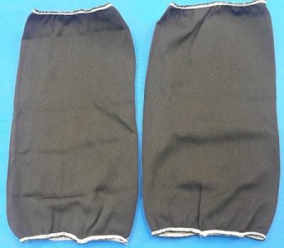 Традиционный чехол на кранец (пара): от 20х50 см до 22х70 см , черный, T-5043