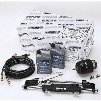 Комплект гидравлического рулевого управления для двигателей до 450 л.с. NAUTECH-1, 49546S