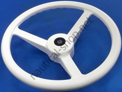 Руль V32W ? 335 мм, белый, 35509R