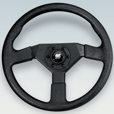 Руль V38B Ø 350 мм, черный, 36517Q