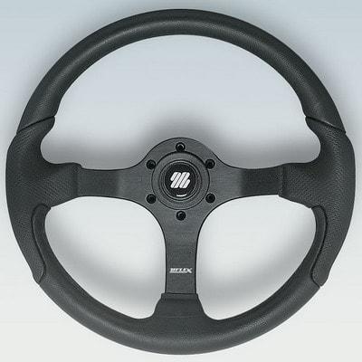 Полиуретановый руль NISIDA B/B Ø 350 мм, черный, 61812M