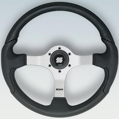 Полиуретановый руль NISIDA B/S Ø 350 мм, черный/серебристый, 61813P