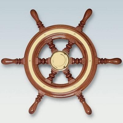 Капитанский штурвал (Махагони) 370 мм, 39931V