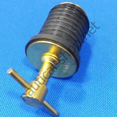 Пробка сливная распираемая из латуни диаметр 23/30 мм, 7526D1