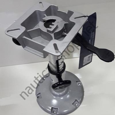 Стационарная телескопическая опора кресла LakeSport с креплением кресла для лодки, катера, яхты, 32/40 см