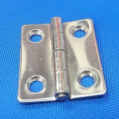 Петля нержавеющая, толщина 1.3 мм, 38х33 мм, 38.467.80