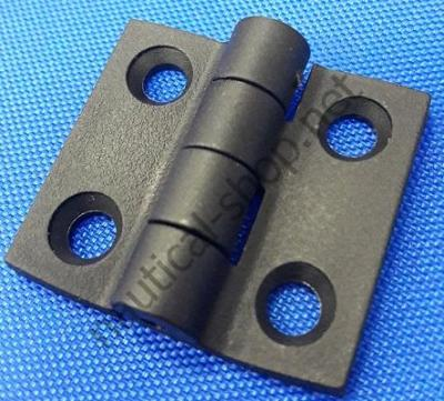 Петля из черного полиамида 38х38 мм, 38.823.80