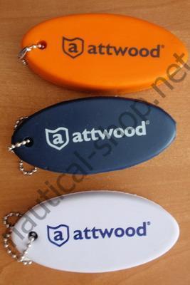 Плавающий неопреновый брелок для ключей, в трех цветах: белый, синий, оранжевый Attwood (США)