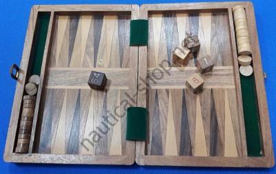 Нарды в деревянной коробке BACKGAMMON, BOIT004