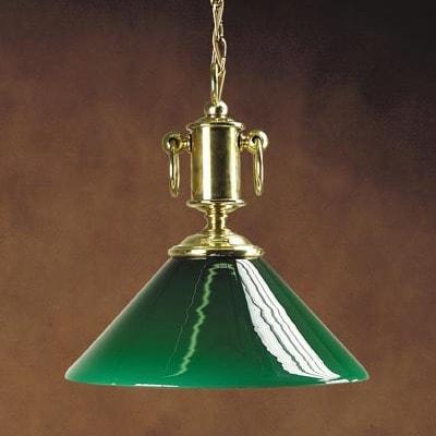 """Подвесная люстра """"Port Harrison"""" с зеленым плафоном, 3015.VM"""