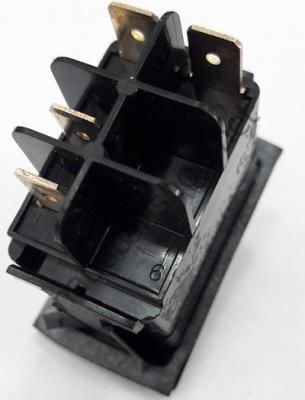Водонепроницаемый выключатель CARLING SWITCH двухпозиционный ВКЛ-ВЫКЛ, 4 контакта, 14.192.01