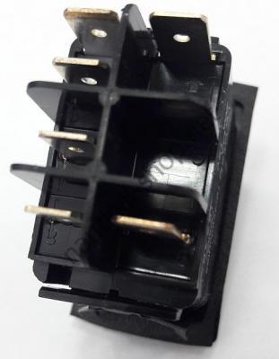 Выключатель CARLING SWITCH трехпозиционный ВКЛ-ВЫКЛ-ВКЛ, 6 контактов, 14.192.04