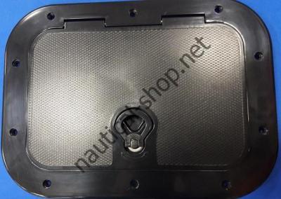 Смотровой инспекционный люк черный 380х280 мм, 12795B1