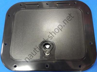 Инспекционный люк черный 400х330 мм, 12796B1