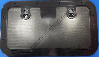 Инспекционный смотровой люк черный 595х345 мм, 12797B1
