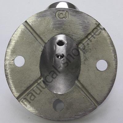 Круглое основание для леера 25 мм, крепление, 41.127.01