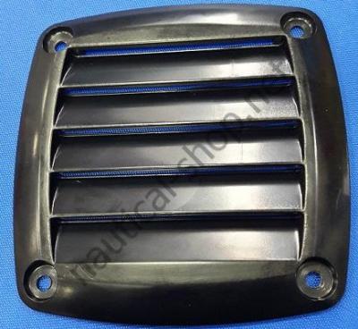 Вентиляционная решетка черная 125х125 мм, 53.480.82