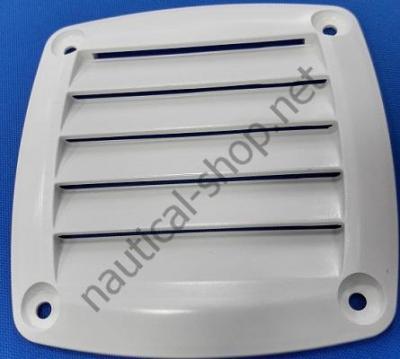Вентиляционная решетка белая 125х125 мм, 53.480.84