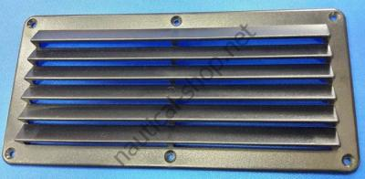 Вентиляционная решетка черная 125х260 мм, 53.301.05