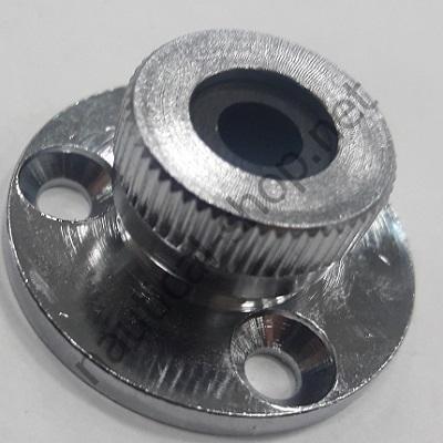 Кабельный сальник из хромированной латуни 6 мм, 14.186.01