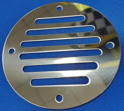 Вентиляционная решетка, нержавеющая сталь диаметр 83 мм, 66308-1, Attwood
