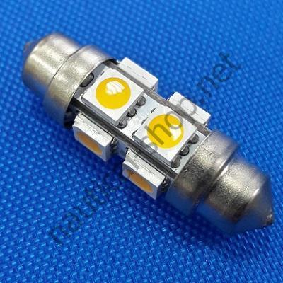 Двухцокольная светодиодная лампа 36 мм, 14.300.32