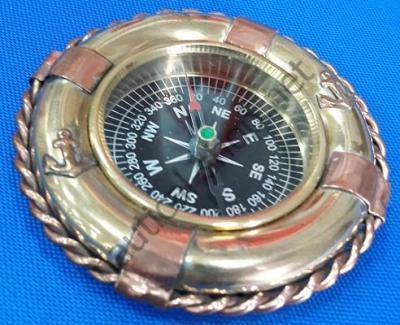 Компас настольный морской в виде спасательного круга, BOUS003