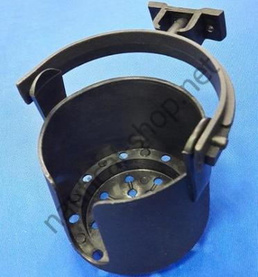 Подстаканник пластиковый на карданном подвесе, черный, 11635-4