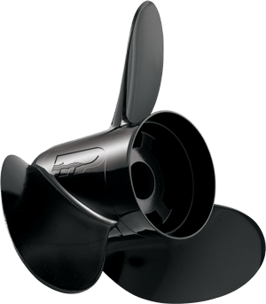 "Винт алюминиевый для Evinrude/Johnson/OMC Hustler 14""-1/4x21"", H-1421"