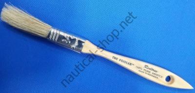 Кисть малярная из натуральной щетины Fooler 12,7 мм, 10005