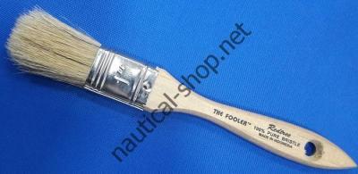 Кисть малярная из натуральной щетины Fooler 25,4 мм, 10001