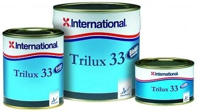 Краска необрастающая Trilux 33 темно синий (0,75 л), YBA065/750ML