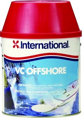 Краска необрастающая VC Offshore белый (0,75 л), YBA707/A750ML