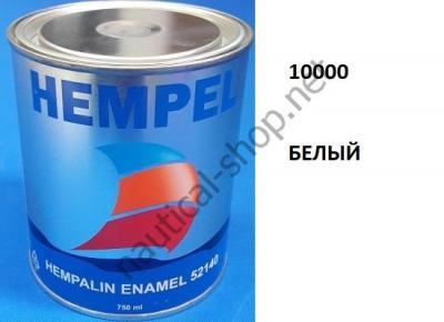 Краска алкидная Hempalin Enamel белый (0,75 л), 10000