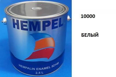 Краска алкидная Hempalin Enamel белый (2,5 л), 10000