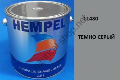 Краска алкидная Hempalin Enamel серый (2,5 л), 11480