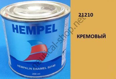 Краска алкидная Hempalin Enamel кремовый (0,2 л), 21210