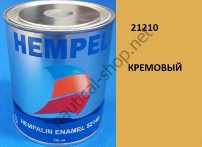 Краска алкидная Hempalin Enamel кремовый (0,75 л), 21210