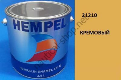 Краска алкидная Hempalin Enamel кремовый (2,5 л), 21210