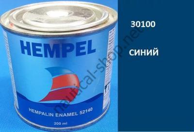 Краска алкидная Hempalin Enamel синий (0,2 л), 30100