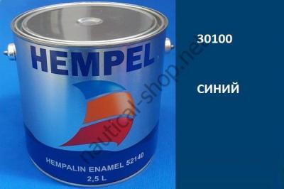 Краска алкидная Hempalin Enamel синий (2,5 л), 30100