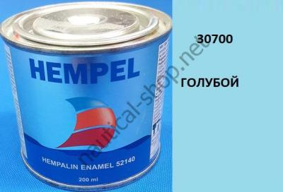 Краска алкидная Hempalin Enamel синий (0,2 л), 30700