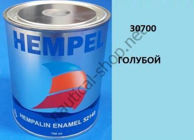 Краска алкидная Hempalin Enamel синий (0,75 л), 30700