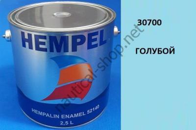 Краска алкидная Hempalin Enamel синий (2,5 л), 30700