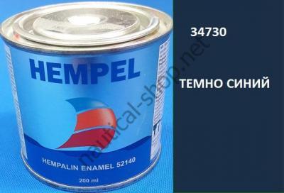 Краска алкидная Hempalin Enamel синий (0,2 л), 34730